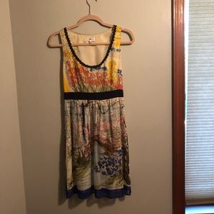 Stunning Water Color Dress
